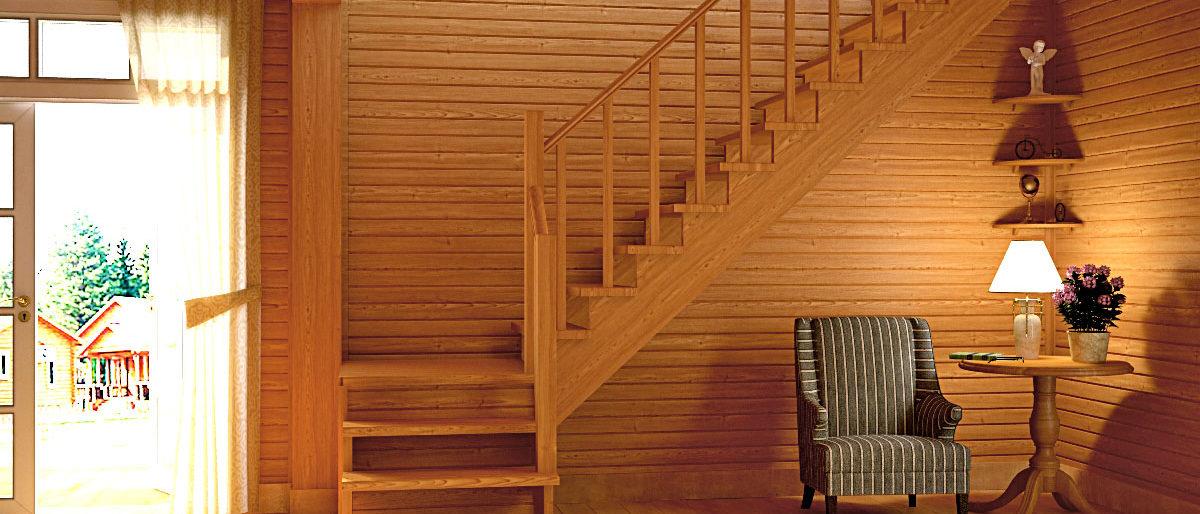 Ссылка на: Деревянные лестницы Profi&Hobby