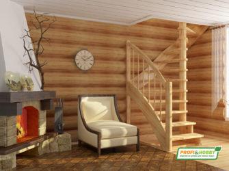 Деревянные лестницы Profi&Hobby